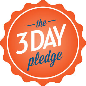 the 3 day pledge