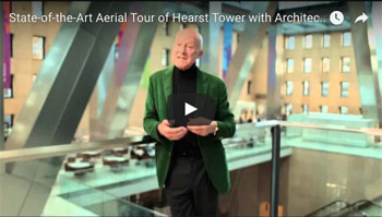 Ariel tour with the architect