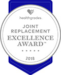 Joint Replacement Excellence Award 2018