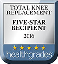 Five Star for Total Knee Replacement