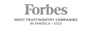 Forbes Most Trustworthy Companies in America, 2015