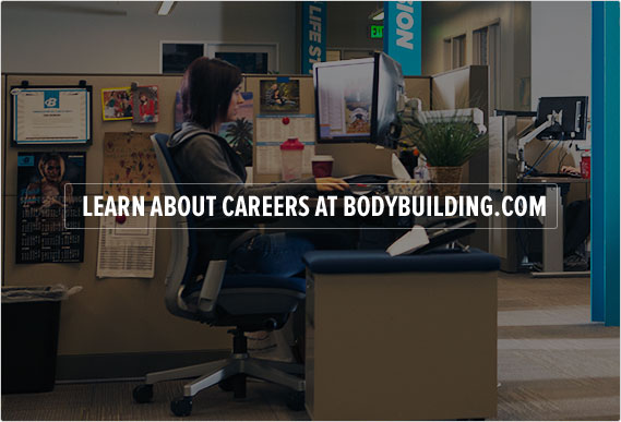 Learn about careers at Bodybuilding.com