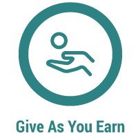 Give as you earn