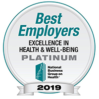2018 Best Employers for healthy lifestyles
