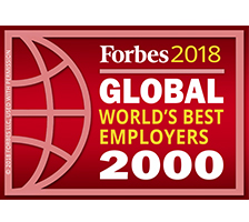 Forbes 2018 Global 2000 World's Best Employers