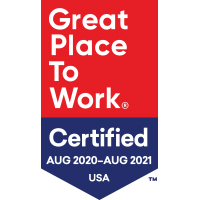 2020 to 2021 Great Place to Work