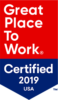 Great Place To Work Award 2019