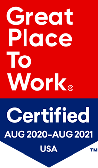 Great Place To Work Award 2020