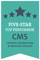 Five-star top performer, centers for medicare and medicaid services