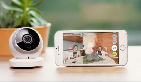 Logi Circle, the Home Connection Camera