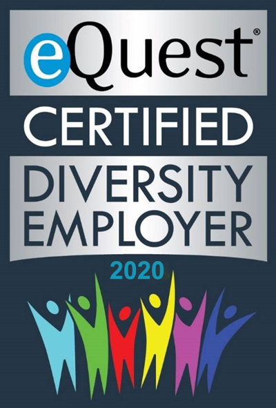 eQuest Certified Diveristy Employer 2020