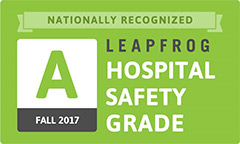 A Fall 2017 Leapfrog Hospital Safety Grade