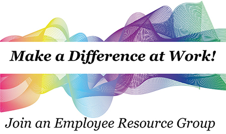 Make a difference at work! Join an employee resource group.